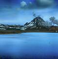Icelandic Blue by Ceri Jones