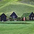 Icelandic Turf Homes by Mario Carini