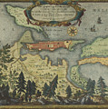 Ichnographia Oppidi Et Munimenti Christianopolis by Celestial Images
