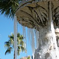 Icicles In A Palm Filled Sky Number 1 by Heather Kirk