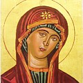 Icon Of The Virgin Mary. by Anastasis  Anastasi