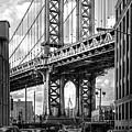 Iconic Manhattan Bw by Az Jackson