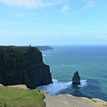 Iconic Needle Rock Formation And The Cliff's Of Moher by DejaVu Designs