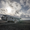 Iconic Plane Wreck  by Michael Ver Sprill