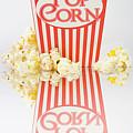 Iconic Striped Popcorn Carton by Jorgo Photography - Wall Art Gallery