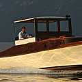 Iconic Wooden Runabout by Steven Lapkin