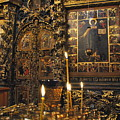 Iconostasis - Church Of Elijah The Prophet by Jacqueline M Lewis
