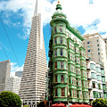 Icons Of San Fran by Greg Fortier