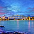 Icons Of Sydney Harbour by Az Jackson
