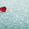 Icy Red Heart by Liz Masoner