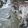 Icy Shores by Greta Larson Photography