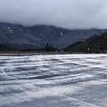 Icy Viewpoint On Silverwood Lake by Viktor Savchenko