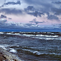Icy Waters Of Superior by Evie Carrier