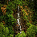 Idaho Springs Waterfall by Jon Burch Photography
