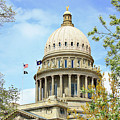 Idaho State Capitol In The Spring by Lost River Photography
