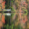 Idyllic Autumn Reflections by Robert Anastasi