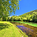 Idyllic Krka River In Knin Landscape by Brch Photography