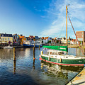 Idyllic North Sea Town Of Husum by JR Photography