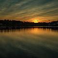 Idyllic Philadelphia Sunset by Howard Roberts