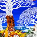 If A Tree Falls In Sicily White by Tony Rubino