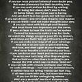 If Poem By Rudyard Kipling by Dan Sproul