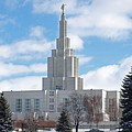 If Temple Against The Sky by DeeLon Merritt