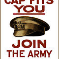 If The Cap Fits You Join The Army by War Is Hell Store