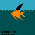 If You Believe In Yourself Anything Is Possible Corporate Startup Quotes Poster by Lab No 4