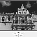 Iglesia San Francisco - Antigua Guatemala Bnw by Totto Ponce