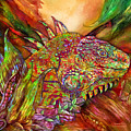 Iguana Hot by Carol Cavalaris
