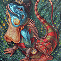 Iguana by Victor Molev