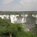 Iguassu Falls From Brazil by Paul Jessop