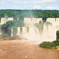 Iguazu Falls 2 by Roy Pedersen