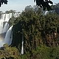 Iguazu Falls Panoramic View by Silvana Miroslava Albano