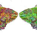 Iguana Love by Carol Cavalaris