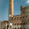 Il Campo Siena Italy by Joan Carroll