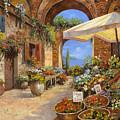 Il Mercato Del Lago by Guido Borelli