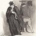 Il Parait... Que Mon Gaillard Est Un Grand Sc?l?rat... by Honor? Daumier