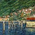 il porto di Bellano by Guido Borelli