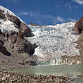 Illampu Glacier Lake Or Laguna Glacial by Aivar Mikko