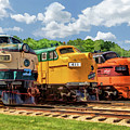 Illinois Railway Museum Diesel Locomotives by Christopher Arndt