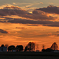 Illinois Sunset Strip IIi by Theresa Campbell