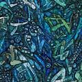 Illuminated Blue by Philip Openshaw