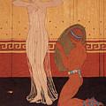 Illustration From Les Chansons De Bilitis by Georges Barbier