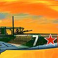 Ilyushin II 2m3 Russian Ground Attack Aircraft by Wilf Hardy