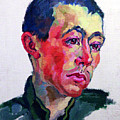 Image Of A Soldier by Stephanie Hollenstein