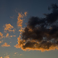 Image Of Clouds At Sunset by Tim Laman