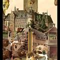Imaginary Postcard  3 by Mandi Blais