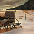 Imaginery Sleigh Ride by Keith Gantos
