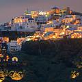 Imerovigli After Sunset, Santorini by Henk Meijer Photography